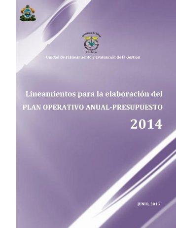 2. Lineamientos - Secretaria de Salud