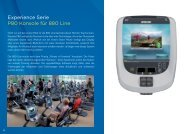 Experience Serie P80 Konsole für 880 Line - Precor