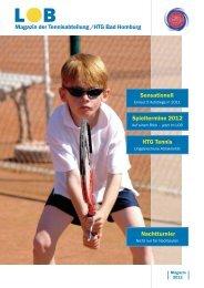 Liebe Tennismitglieder - HTG Tennis - HTG Bad Homburg