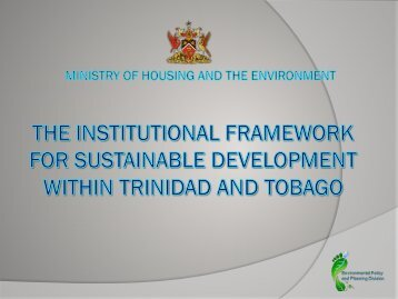 Presentation by the Ministry of Housing and Environment