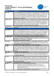 Chronik Lokale Agenda 21 Augsburg - Nachhaltigkeit - Stadt ...