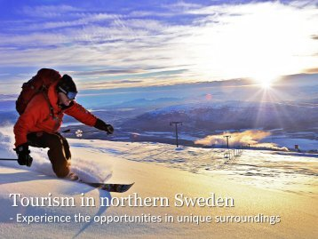 Tourism in northern Sweden - Västerbotten Investment Agency