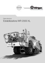 Estabilizadora WR 2000 XL - Wirtgen GmbH