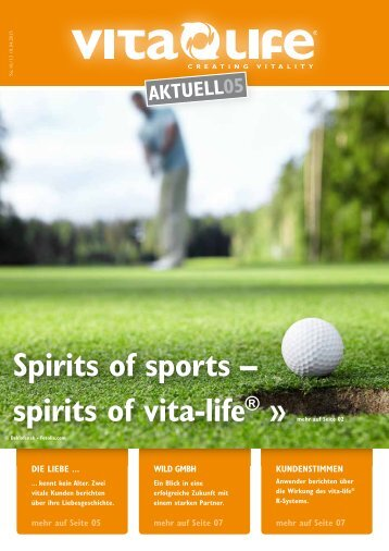 Aktuelle Ausgabe – Vita Life