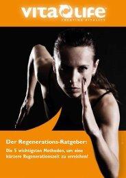Der Regenerations-Ratgeber: - VITA-LIFE