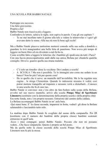 UNA SCUOLA PER BABBO NATALE - Maestra Sabry