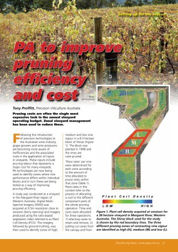 PA to improve pruning efficiency and cost - SPAA