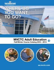 MVCTC Adult Education - Miami Valley Career Technology Center