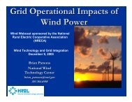 Grid Operational Impacts of Wind Power - Utility Variable Generation ...
