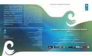 Caribbean Human Development Report 2011 - UNDP Trinidad and ...