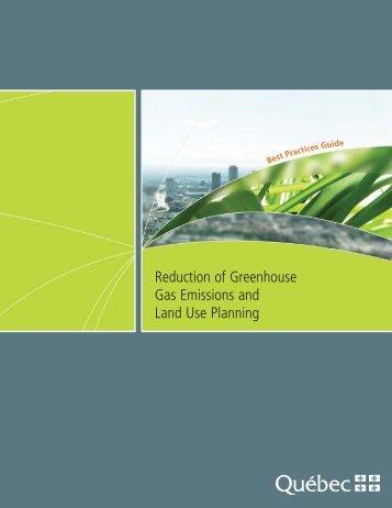 Guide de bonnes pratiques - La réduction des émissions de gaz à ...