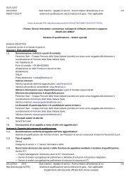 Servizi informatici: consulenza, sviluppo di software ... - Ferservizi