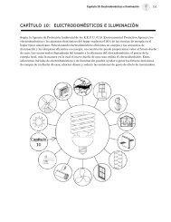 CAPÍTULO 10: ELECTRODOMÉSTICOS E ILUMINACIÓN
