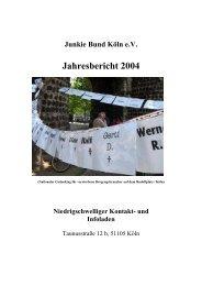Jahresbericht 2004 - VISION eV