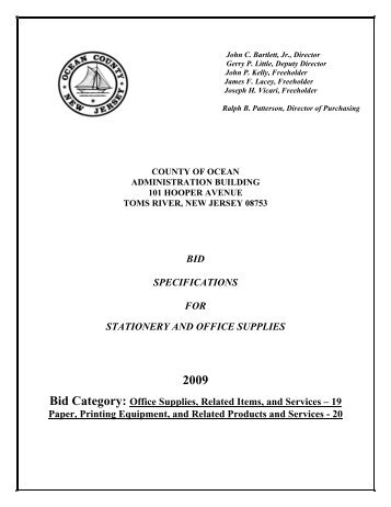 STATIONERY AND OFFICE SUPPLIES 2009.pdf
