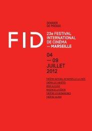 Télechargez ici - Festival international du documentaire de Marseille