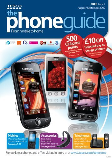 phone Guide - Tesco