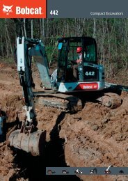 442 Excavator - brochure - Bobcat.eu
