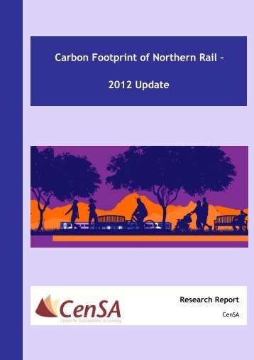 View CENSA report 2012 - Northern Rail