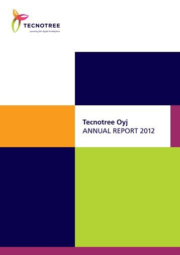 Download Annual Report PDF - Annual Report 2012 - Tecnotree