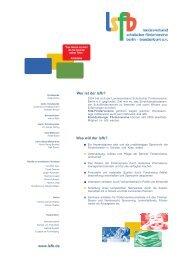 www.lsfb.de - Studenten machen Schule in Berlin