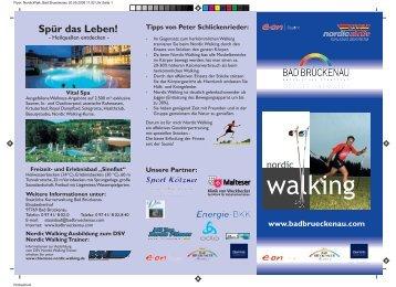 E.ON Bayern Nordic Walking Zentrum Bad Brückenau
