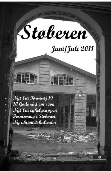 Juni/Juli nummeret 2011. - Støberiet