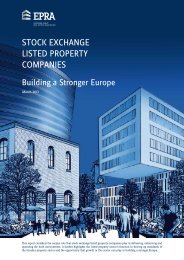 Stock Exchange Listed Property Companies; Building a ... - EPRA