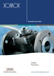 TUFLIN® Plug Valve - CRANE ChemPharma & Energy
