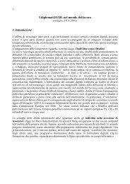 I diplomati ECDL nel mondo del lavoro 1. Introduzione - Aica