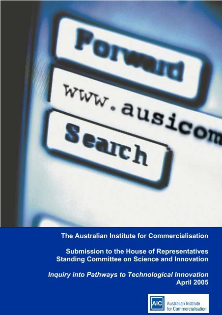 please click here. - The Australian Institute for Commercialisation