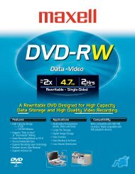 DVD-RW - Maxell Canada