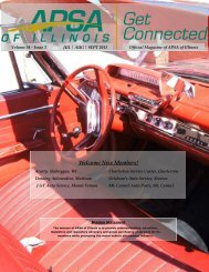 APSA of Illinois October November December Magazine