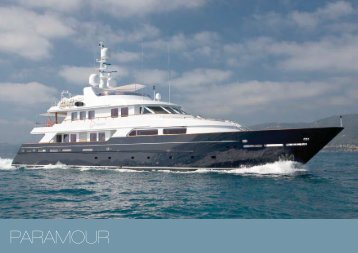 M/Y Paramour - Paradise Yacht Charters