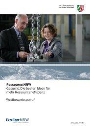 Wettbewerbsaufruf - Ziel2.NRW