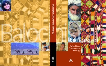 Balochistan Conservation Strategy - IUCN - Pakistan