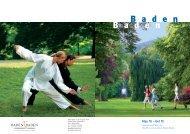 Stay fit - Baden-Baden