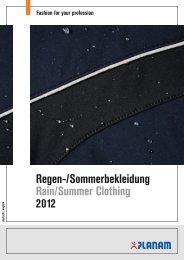 Regen-/Sommerbekleidung Rain/Summer Clothing 2012 - D-Inter
