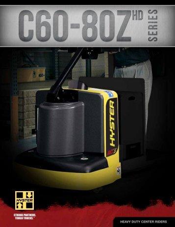 C60-80ZHD Brochure - Hyster Company