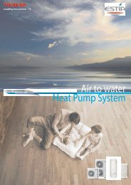 Air to water Heat Pump System - Heronhill Air Conditioning Ltd