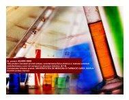 Cercetari privind sinteza, caracterizarea fizico-chimica si testarea