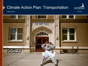 Transportation and the CAP 2013 - Gonzaga University Blogs