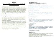 Bibliolog: Jesus und die Frau am Jakobsbrunnen (Joh 4,1-42)