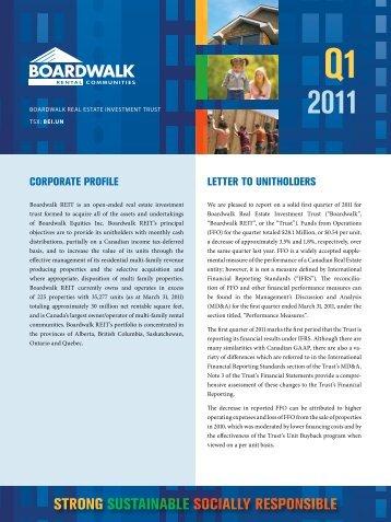 2011 Report - Boardwalk REIT