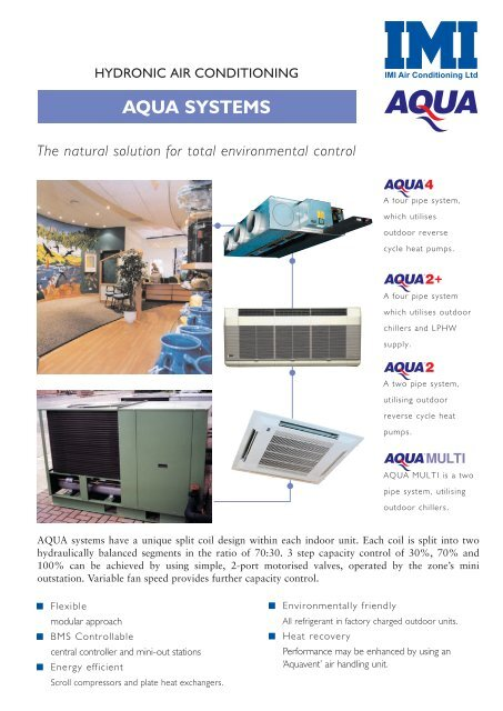 AQUA SYSTEMS - Heronhill Air Conditioning Ltd