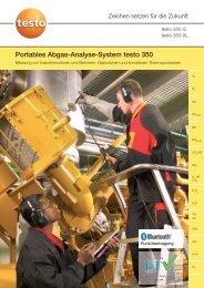 Download Produkt-Info testo 350 - Testo AG