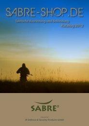 Katalog 2012 - Sabre-Shop
