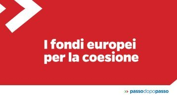 passodopopasso-fondi europei