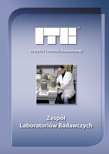 Zespół Laboratoriów Badawczych - Instytut Techniki Budowlanej