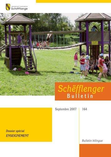Bulletin 164 en Pdf - Schifflange.lu